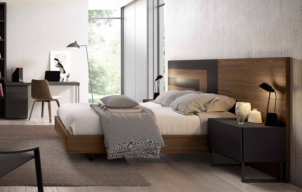 dormitorio matrimonio moderno zaragoza