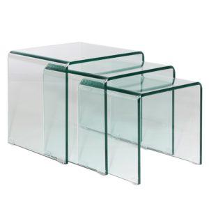 Mesas Nido Cristal Glass