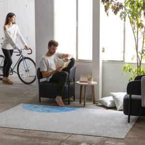 Alfombra de Diseño Cuts Cuts | Salón y Dormitorio | VIVAREA Nebra