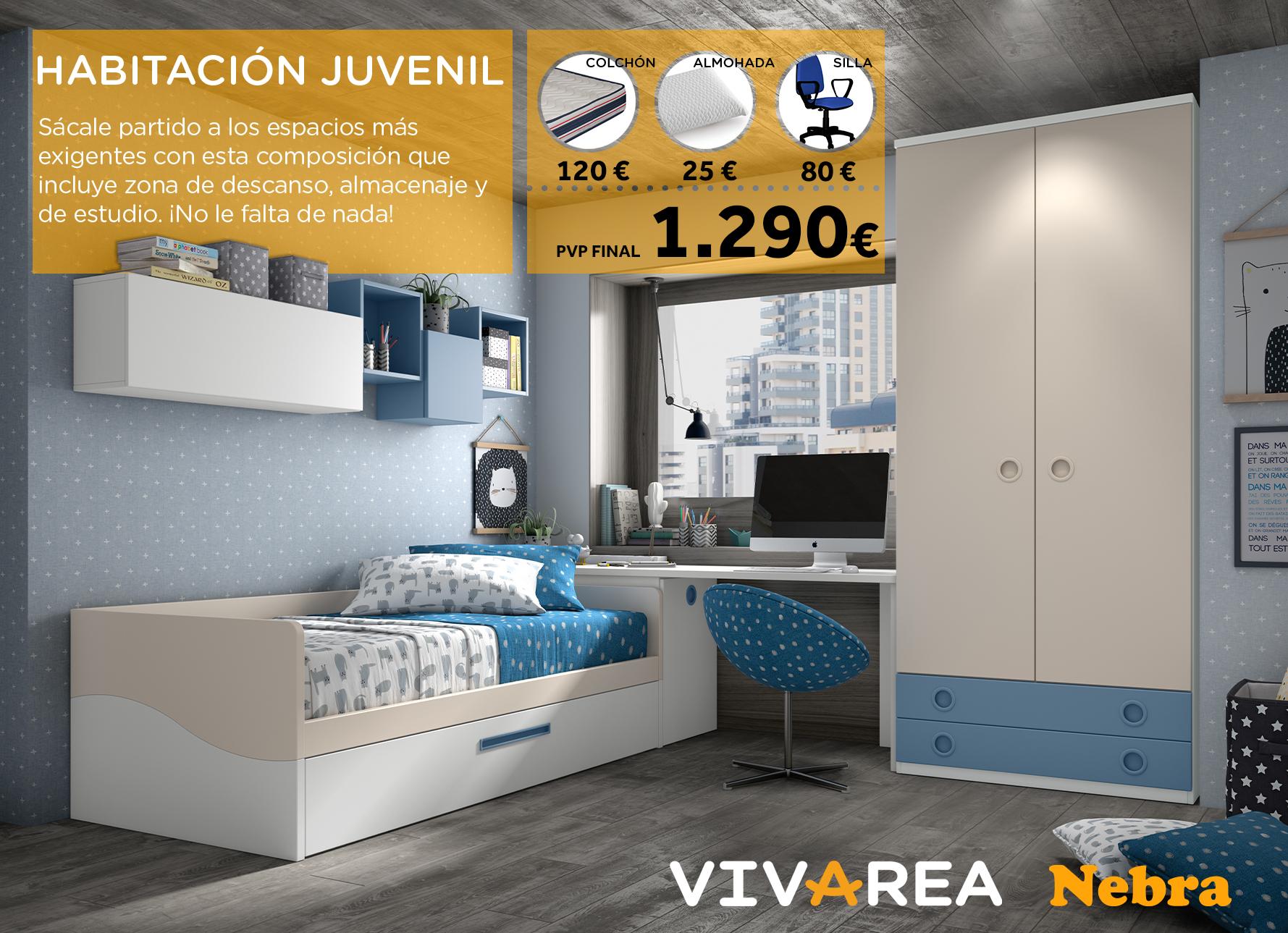Dormitorios Juveniles Glicerio Chaves