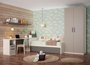 Dormitorios Juveniles LAN MOBEL   VIVAREA Nebra   Tiendas de muebles en Zaragoza
