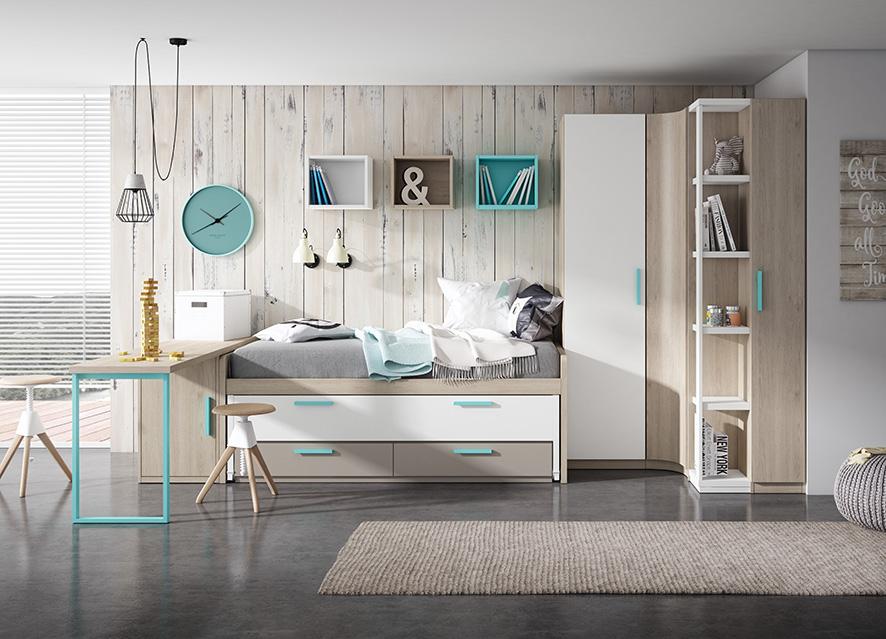 Nuevos Dormitorios Juveniles en Zaragoza | VIVAREA Nebra
